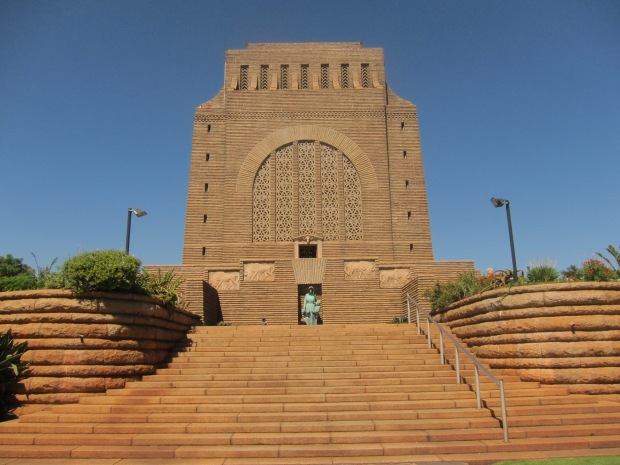 the Voortrekker Monument close to Pretoria, South Africa