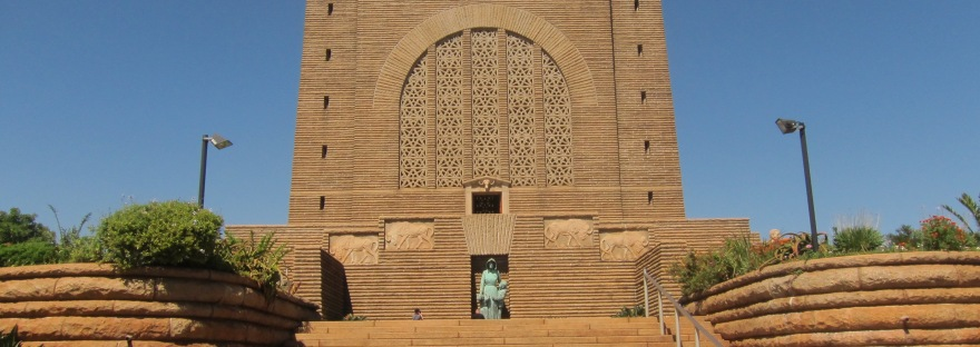 Voortrekker Monument close to Pretoria, South Africa