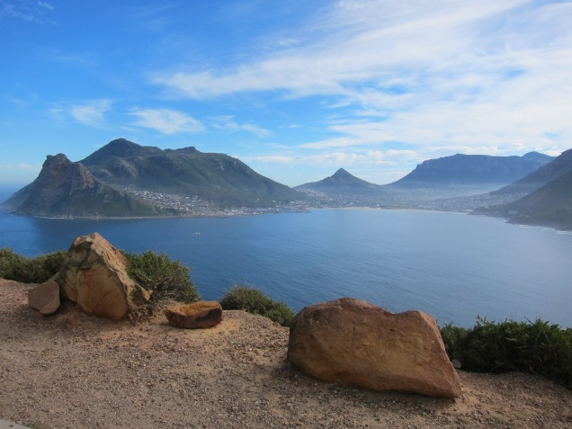 One of the many beautiful view point along Chapman's Peak.