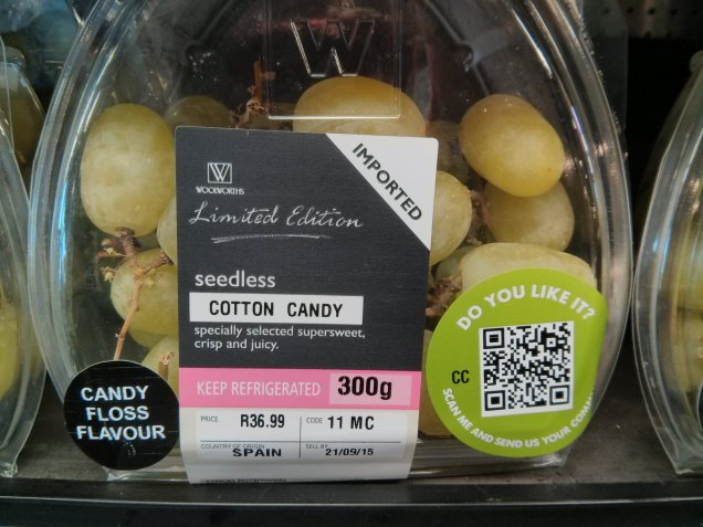 Cotton Candy Grapes