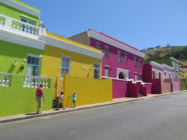 Bo Kaap Pretty Painted Houses