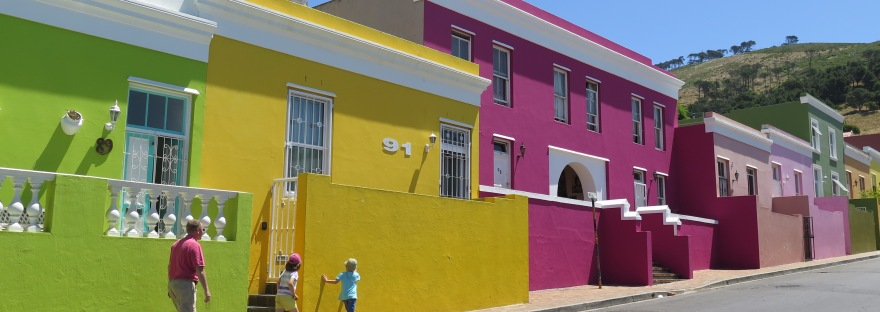 colourful houses in bo kaap cape town