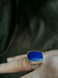 The finished ring. Just need a cocktail to go with it.