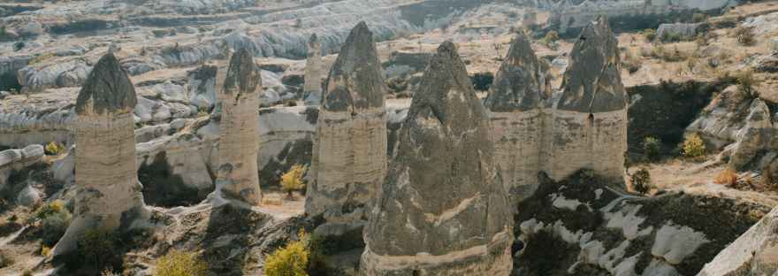 cappadocia fairy chimneys turkey