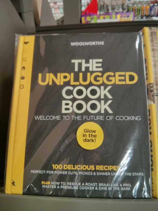 unplugged cook book