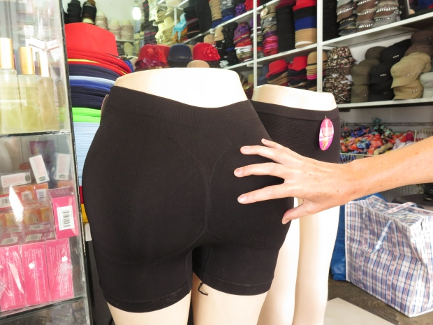 padded knickers for sale in a johannesburg market