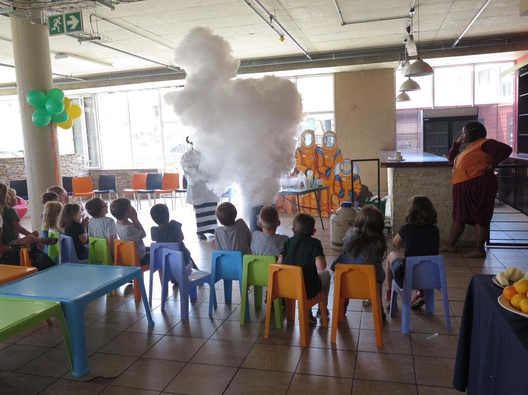 Children's party at Sci Bono Discovery Centre Johannesburg