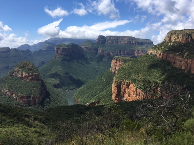 Panorama Route Mpumalanga South Africa the three rondavels