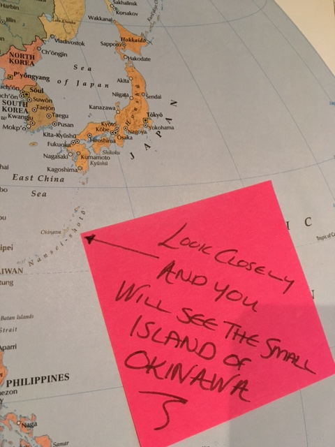 O is for One in a Million expat partner in the a to z of expat life on a map of Japan.