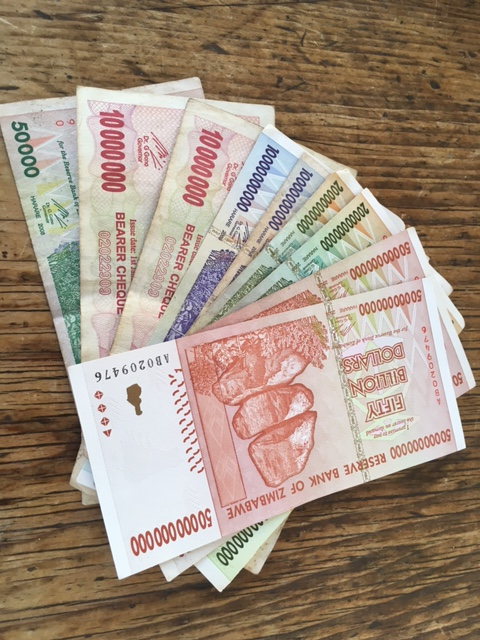 Fifty Billion Zimbabwean Dollars real or fake?