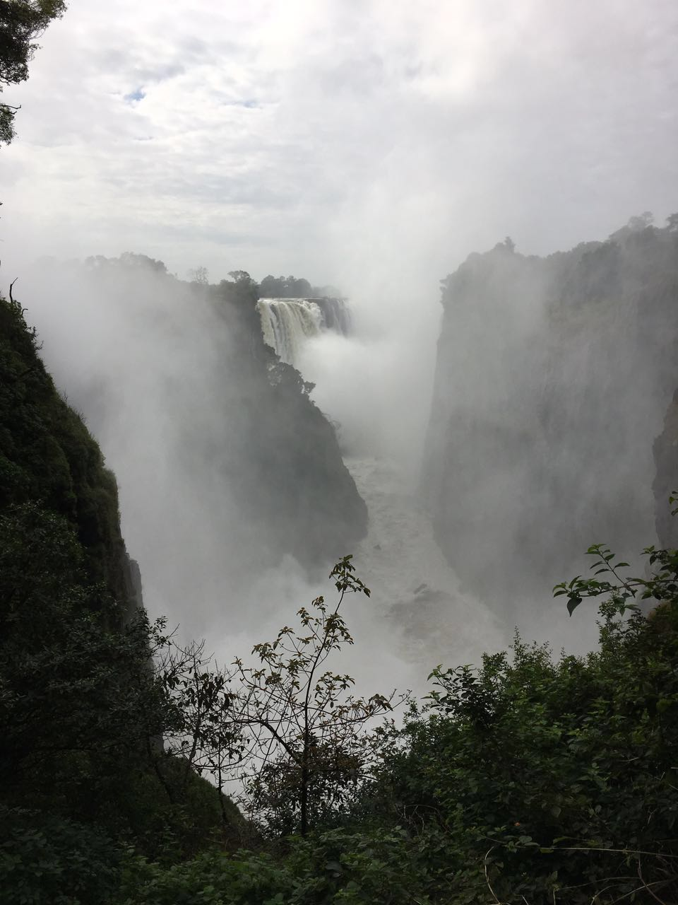 Victoria Falls, Zimbabwe The Smoke that Thunders