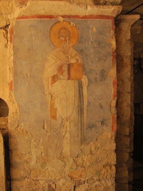 st nicholas of myra fresco turkey